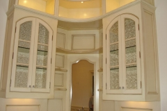 Custom kitchen millwork.