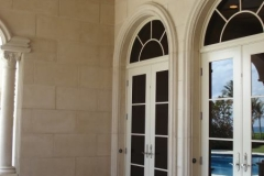 Custom patio doors.