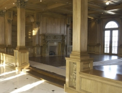 Traditional and elegant custom millwork for living rooms.