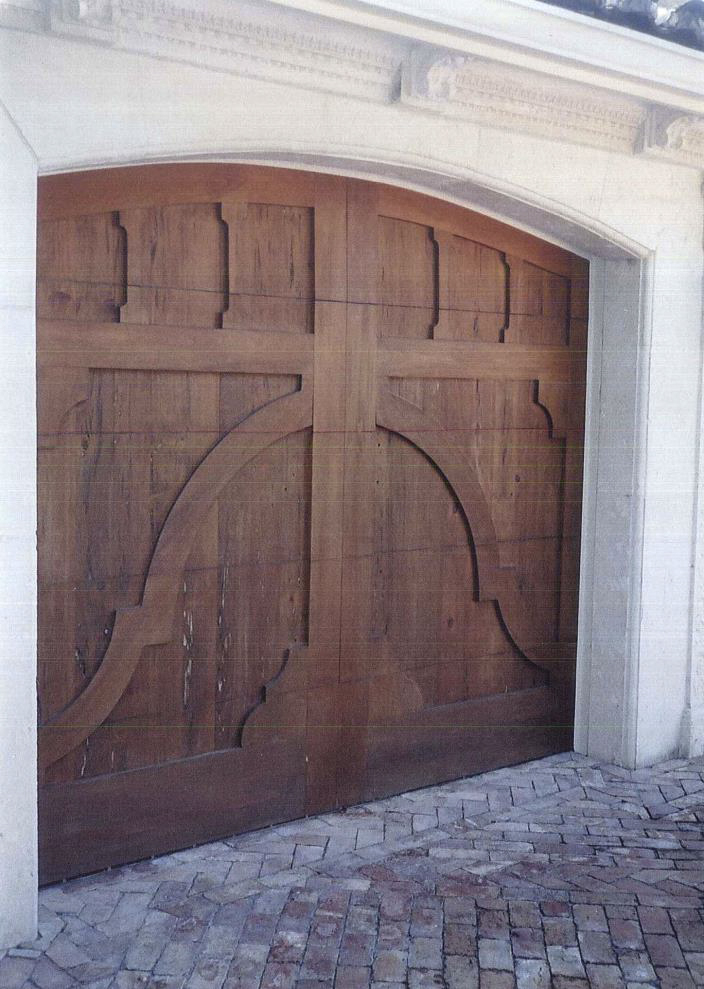 Custom garage doors.